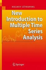 New Introduction to Multiple Time Series Analysis: By Helmut L]tkepohl, Helmu...