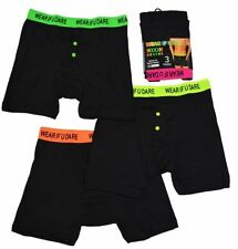 MENS  BOXERS. 3, 6 OR 12 PAIRS. SIZES- SMALL, MEDIUM, LARGE & X-LARGE
