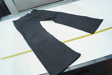 GIORGIO ARMANI Damen Hose Jeans Indigo 005 31/34 W31 L34 schwarz pailletten #65