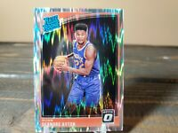 2018-19 Donruss Optic Deandre Ayton Rated Rookie Shock Wave Phoenix Suns RC RR
