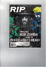 VINTAGE JANUARY 1997 RIP MAGAZINE BEAVIS & BUTT-HEAD ROB ZOMBIE 10TH ANN  MS1815