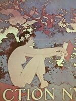 Art Nouveau Poster Print Color By Maxfield Parrish Scribner's Fiction