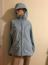 The North Face Hyvent Windbreaker Jacket Size L Hoodie Blue Nylon