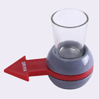 EB_ JW_ AG_ Fun Spinner Spin The Shot Roulette Glass Alcohol Drinking Game Party