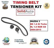 für Mazda 3 BK 1.6 DI Turbo BL 1.6 MZR CD 2004-2013 ZAHNRIEMEN SPANNROLLE SATZ