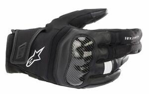 Alpinestars SMX Z Drystar Motorcycle Gloves - Black/White ( 10)