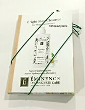 Eminence Bright Skin Cleanser Sample Size *New. 6 Pieces*