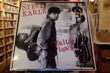 Steve Earle Guitar Town LP sealed vinyl RE reissue