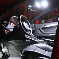 VW POLO 9n 9n3 Illuminazione Interna Set 9 Interni Xenon LED bianco SMD BIANCO