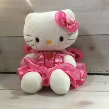 "A80 Build a Bear Hello Kitty Fairy Dress Sings Plush! 15"" Stuffed Toy Lovey"
