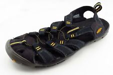KEEN Size 8 M Black Sports Fabric Women Sandal Shoes