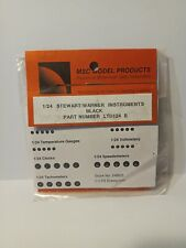 Instrument Decals For Detailing Model Cars Msc Model products Part #Ltd 124 B