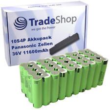 Li-ion 18650 Akkupack 10S4P 36V 11600mAh Panasonic NCR18650PF 11,6Ah
