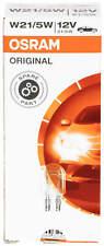 10 x OSRAM W21/5W 21/5 Watt 12 Volt bulb vehicle 7515 21W Halogen Carlamp light