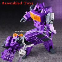 New In Stock Shockwave Pistol Deformation Action Figure Assembled Robot Kids Toy