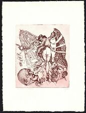 31)Nr.136- EXLIBRIS- A. Steenvoorden - Erotik / erotic - Auflage: 48/70