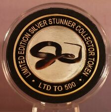 RED BELLY BLACK SNAKE SILVER STUNNER COIN - LIMITED EDITION 500 RELEASED
