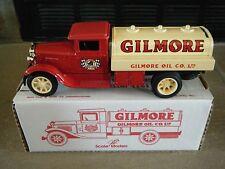 JLE 4010 1931 INTERNATIONAL RED LION #2 GILMORE TANKER TRUCK BANK W/BOX MINT HTF