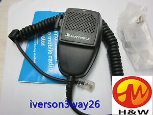 8pin HMN1344A  Car mobile Radio Speaker Mic for Motorola GM950 GM300  PRO5100