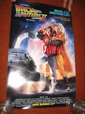 "BACK TO THE FUTURE  2,   ADVANCE    14 X 21""  MINI MOVIE POSTER.  ORIGINAL 1987"