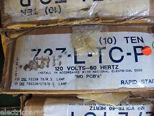 Universal 727-L-TC-P, 120 VOLT Ballast for (1) FBO24W/UT8/ R.S.- NEW BOX OF 10