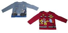 Boys Long Sleeved Tops 2 Pack Official Disney Mickey Mouse 2 3 4 5 & 6 Years