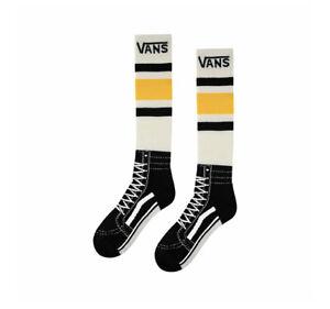 Vans Snowboard Snow Acrylic Socks Lemon Chrome Unisex Men's Size L VN0A3I4N85W