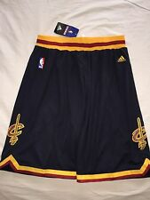 Men's Cleveland Cavaliers Jersey Navy Blue Basketball Shorts Size- Large