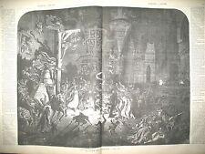 LA COUR DES MIRACLES CITé DES VOLEURS PRINCE DE PRUSSE VICTORIA GRAVURES 1859