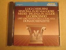 CD EUROMUSICA / LUIGI CHERUBINI - SINFONIA IN RE MAGGIORE / DONATO RENZETTI