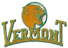 "1990 VERMONT CATAMOUNTS NCAA COLLEGE VINTAGE 5"" TEXT TEAM LOGO PATCH"