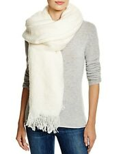 Aqua Womens Ivory Soft Blanket Wrap One Size Scarf