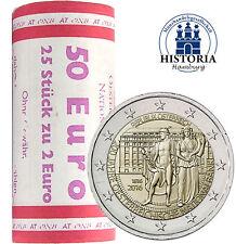 Österreich 2 Euro 200 Jahre Nationalbank 2016 bankfrisch 25 Münzen in Rolle