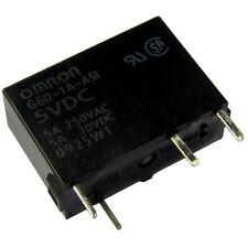 Omron g6d-1a-5a Relais 5v dc 1xein 5a 125 Ohm PCB Power Relay 854745