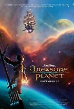 TREASURE PLANET Joseph Gordon-Levitt Original Double Sided Movie Poster