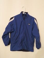 Boy's Nike Coat Winter Lined Windbreaker Jacket Sz Medium 8-10 Blue~Black~White