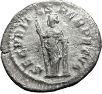 GORDIAN III 244AD Silver Authentic Genuine Ancient Roman Coin Security i64978