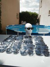 GROS LOT  REVENDEUR 40 PAIRES DE LUNETTES SOLAIRES MIXTE  STYLE  WAYFARER UV 400