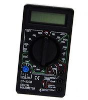 LCD Digital Multimeter Spannungsprüfer AC DC Voltmeter Kapazität Tester Ohmmeter
