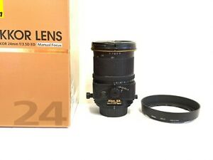 Very Good Nikon PC-E NIKKOR 24mm f/3.5 AS D RF N ED Lens