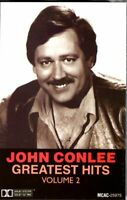 John Conlee Greatest Hits Vol 2 1985 Cassette Country Folk Rock Western