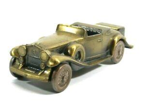 Vintage Banthrico Antique Auto Coin Bank 1930 Cadillac Roadster Car