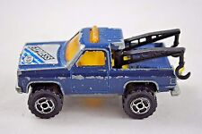 MAJORETTE No: 228 US TOW WRECKER / TRUCK / DEPANNEUSE with 2 moving Cranes