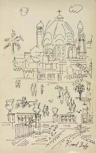 RAOUL DUFY, Ink on Paper