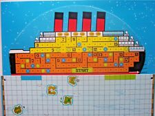 Abandon Ship / Titanic  Vintage Game Board