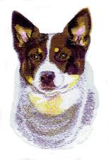 Embroidered Ladies Short-Sleeved T-Shirt - Australian Cattle Dog Bt3606