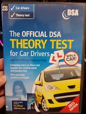 The Official DSA Theory Test for Car Drivers - PC CD ROM - FREE POST