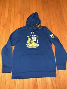 Brand New! RARE! Under Armour Men's Size Large L Navy Blue Angels Hoodie ✈️