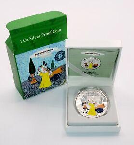 Cook Islands 2011 - Soyuzmultfilm - Bremen Musicians - King Silver Proof UC Coin