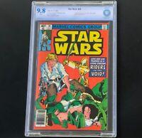 Star Wars #38 (1980) 🔥 CBCS 9.8 White Pgs 🔥 Luke Skywalker & Leia Marvel Comic
